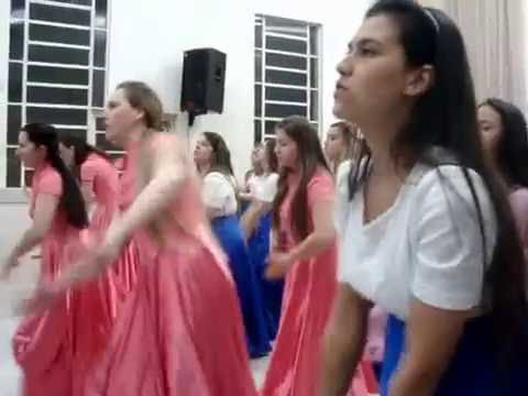 Coreografia Do Hino - A Glória - Alugiana