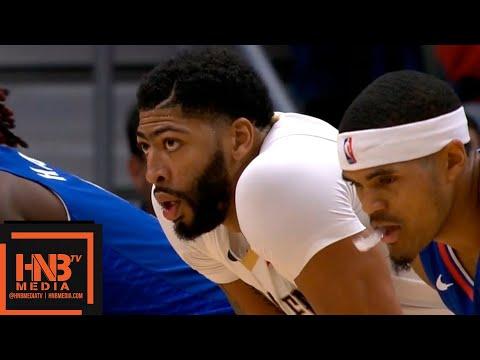 LA Clippers vs New Orleans Pelicans 1st Half Highlights | 10.23.2018, NBA Season
