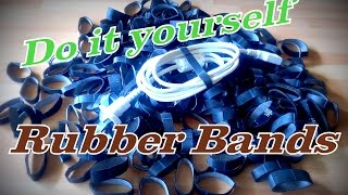 how to make rubber bands diy life hack