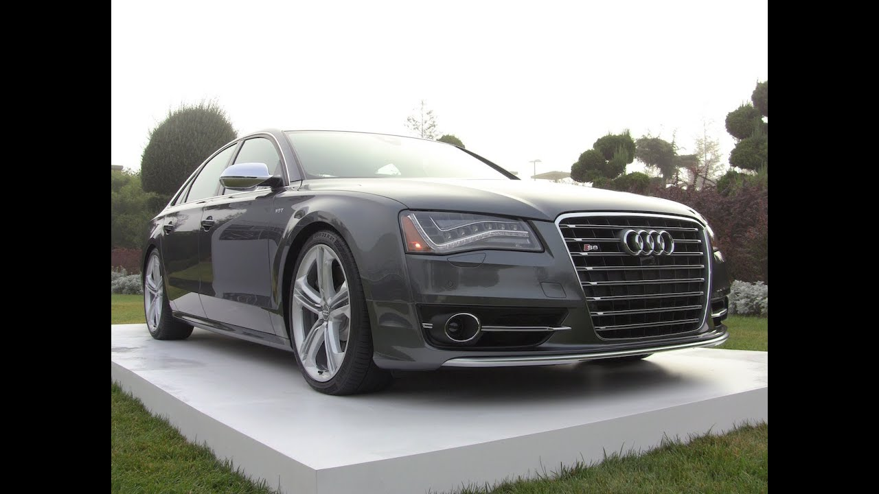2013 Audi S8 0 60 Mph First Drive Review Youtube
