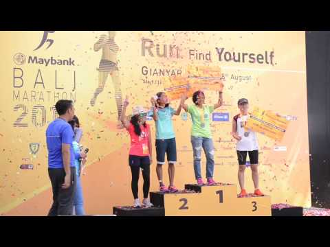Official Video of Maybank Bali Marathon 2016
