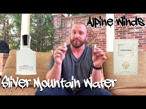 Parfums Vintage Alpine Winds vs Creed Silver Mountain Water Fragrance Review