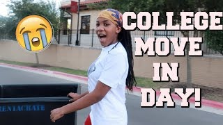 COLLEGE MOVE IN DAY VLOG // Freshman Year