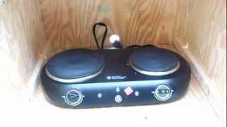 Homemade Wooden Beef Jerkey Smoker Box Part 3 - Diy How To Build A Food Smoker