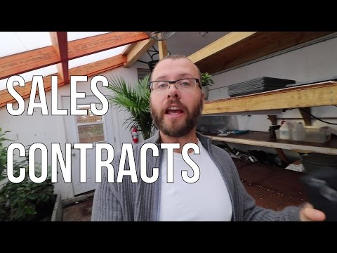 THE INS AND OUTS OF SALES CONTRACTS