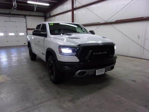 2019 Bright White Ram 1500 Rebel 4X4 KDT2340 Motor Inn Auto Group