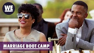 Michel'le Thinks Her Younger Man Has FOMO | Marriage Boot Camp: Hip Hop Edition