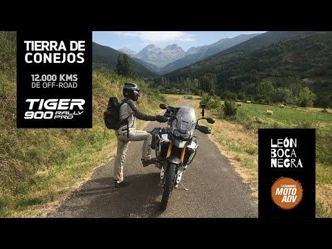 MotoADV x Triumph | 12.000 kms de Off-Road de León Bocanegra por la península Ibérica (Avance)