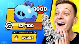 ICH BEKOMME 1000x *GRATIS* Brawl Box! 🎁 1000 TICKETS SETZEN! | Brawl Stars deutsch