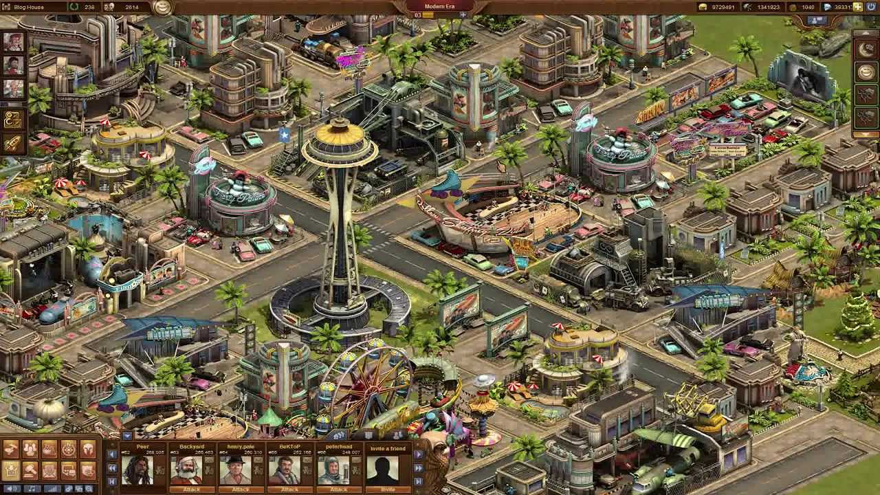 Forge of Empires - The Modern Era! - YouTube