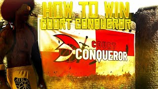 HOW TO WIN COURT CONQUEROR ON NBA 2K20! *EASIEST METHOD*