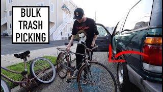 BULK TRASH PICKING RICH BEACH TOWN - Guess What We Found?!?!