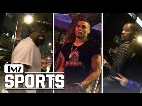 Clippers' DeAndre Jordan Partying with Thunder After Devastating Loss | TMZ Sports