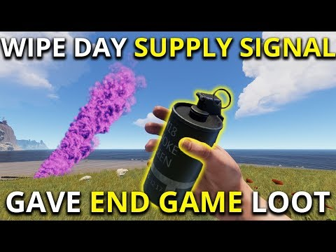 WIPE DAY SUPPLY SIGNAL GAVE ME END GAME LOOT! -  Rust Solo Survival Gameplay 1/3 thumbnail