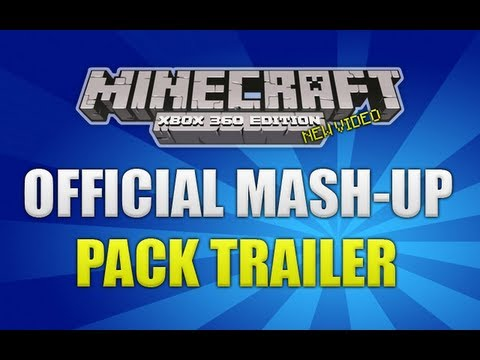 Minecraft Xbox 360 Edition - Official Mass Effect Mash Up Pack Trailer!