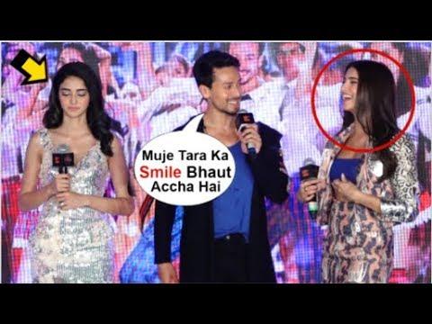 Ananya Panday JEALOUS Seeing Tiger Shroff FLIRT With Tara Sutaria At SOTY 2 The Jawani Song Launch
