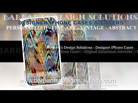 Designer iPhone 5 Cases - Made in America -  Aluminum Abstract Artworks by BDS - iPhone 4 and 4s