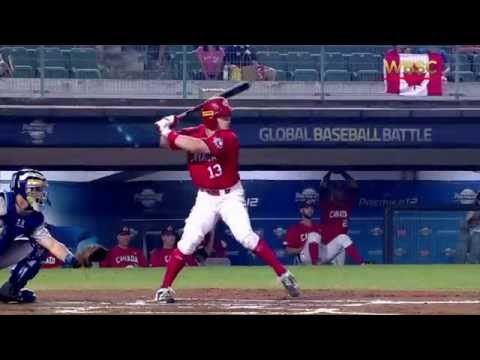 2015 WBSC Premier12: ITA vs CAN - Highlights Game 23
