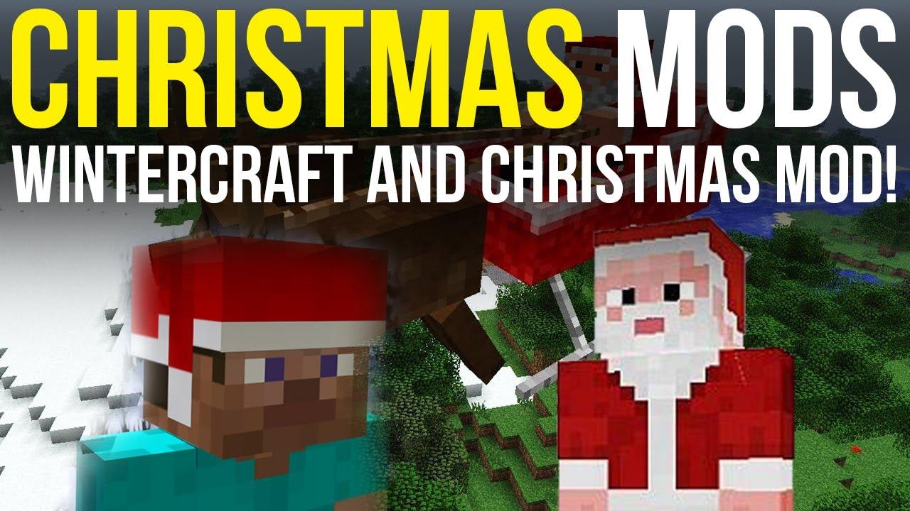 Christmas Mod V4 6 Mc 1 6 4 Huge Update Forge Ssp Smp Everything You Need For Christmas 100 Diamonds Minecraft Mod