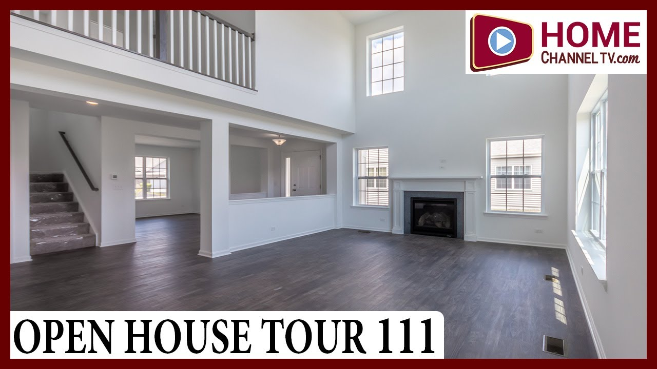 Open House Tour 111 - Luxury Ranch & Two-story Duplex Homes in Gilberts IL