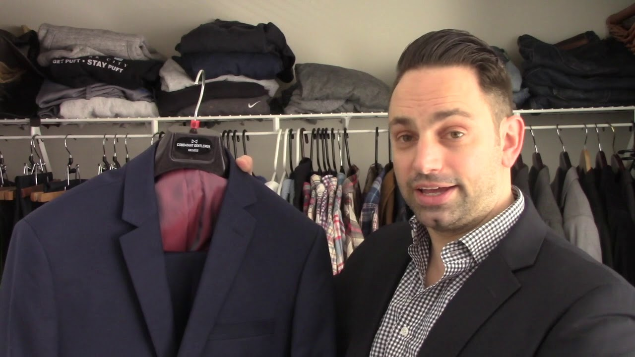 154ef77fcf5f Combat Gent suit unboxing and review - YouTube
