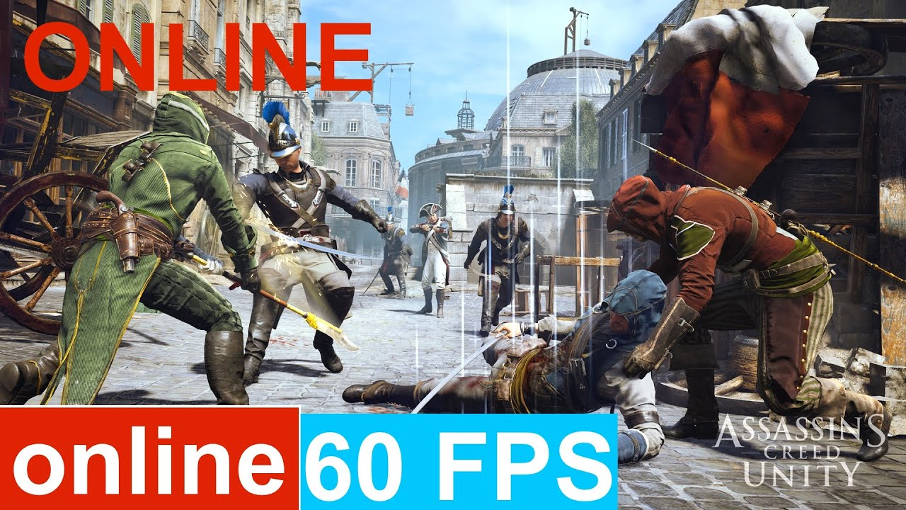 Assassin S Creed Unity Online Multiplayer Gameplay Youtube