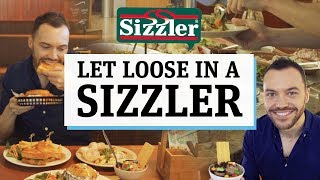 Who remembers Sizzler?! We let loose on the iconic salad bar