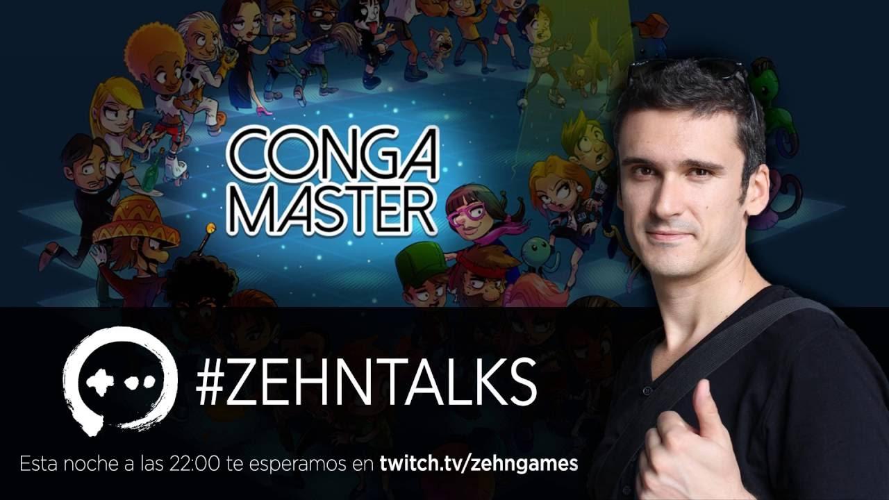 ZehnTalks #1 Conga Master con David Jaumandreu 15/09/2016