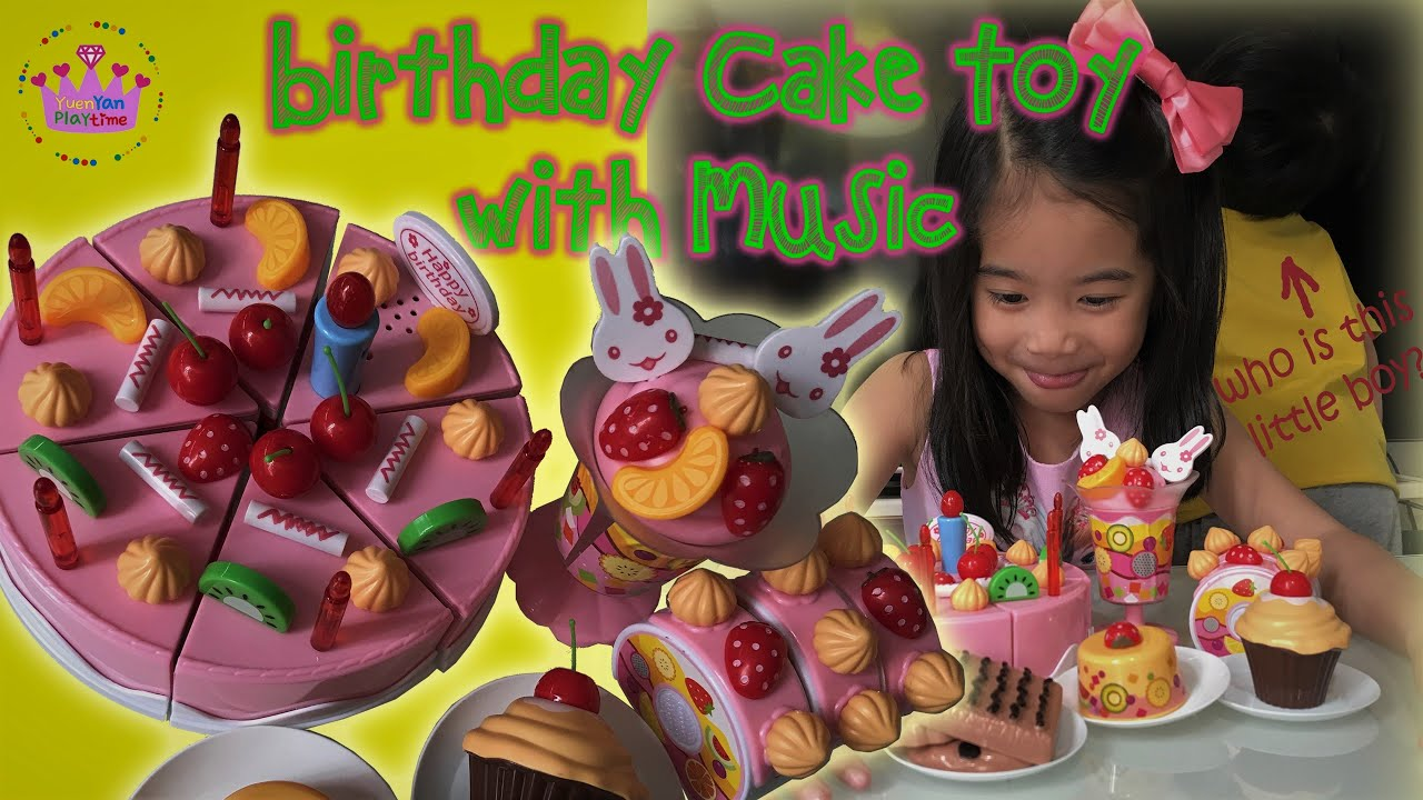 Birthday Cake Toy With Music