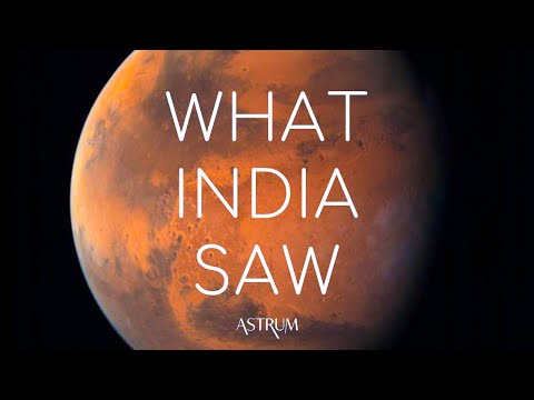 What did India's Mars Orbiter Mission see over Mars? MOM Mangalyaan ISRO