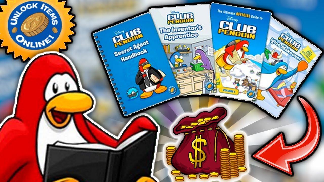 ? ALL BOOK CODES ? | Club Penguin Rewritten - YouTube