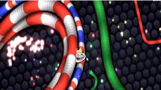 Slither.io Legendary Pro The biggest snake predator in the world