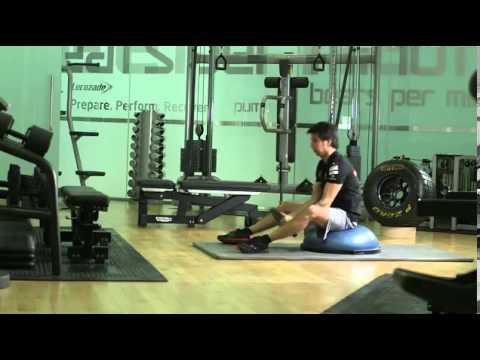 F1 driver Sergio Perez's training techniques
