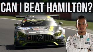 Can I Beat Lewis Hamilton's Laptime At The Nurburgring GP Circuit?