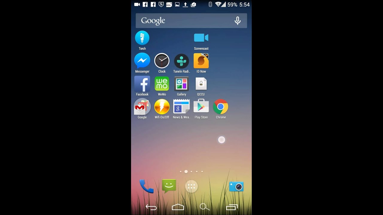 how to change battery icon in oneplus one