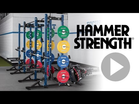 HD Athletic Half Rack From Hammer Strength