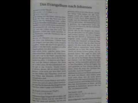 Das Johannesevangelium, behandelt von Roger Liebi Teil 18