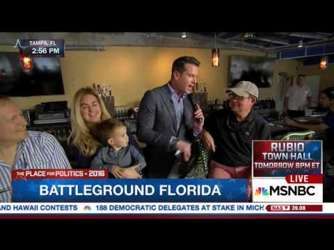 Florida Men Tell MSNBC They're Voting for Hillary Clinton in Primary and Donald Trump in General