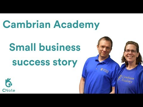Cambrian Academy - CNote Small Business Success Story