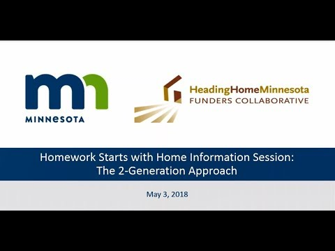 Homework Starts with Home: The 2-Generation Approach