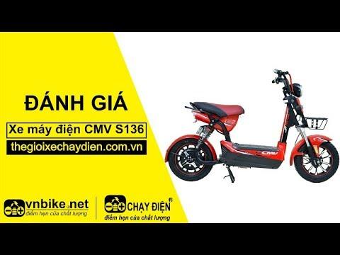 Đánh giá xe máy điện CMV S136