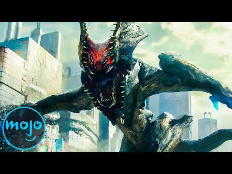 Top 10 BIGGEST Kaiju Movie Monsters Ever