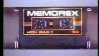 Memorex Audio Cassettes 1982