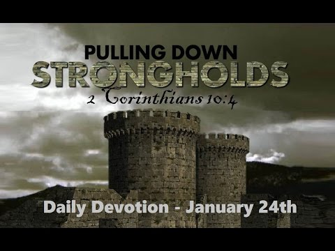 Daily Devotional For Men- January 24th