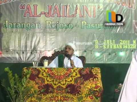 Ceramah Agama Oleh Habib Umar Al-Muhdlor di Jarangan Rejoso Pasuruan
