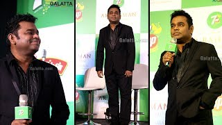 'Netru Indru Naalai' AR Rahman Live in Chennai Press Meet