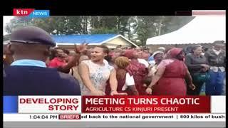 Tanga Tanga, Kieleweke supporters clash as Development meeting turned chaotic in Nyeri