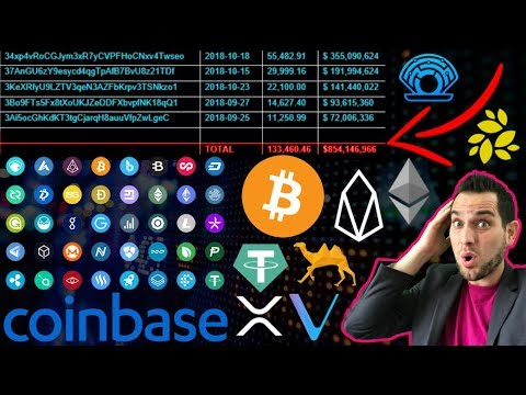 Who Just Bought 133,460 Bitcoins?!? Coinbase Adding 300 Tokens?!? EOS Is NOT A Blockchain?