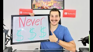 7 things to NEVER do with YOUR MONEY! (#7 is obvious)