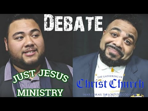 GOCC South Pacific and Just Jesus Ministry - The Great Debate